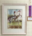 Merit Award: Cranes Countin' by Susan Wewers