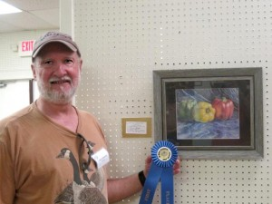 1st Place: Chuck Simmons, Colorful Peppers