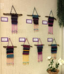 Weavings by young artists