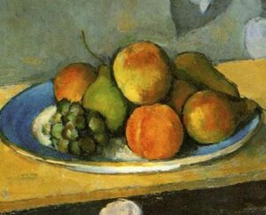 Cezanne's Still Life with Fruit