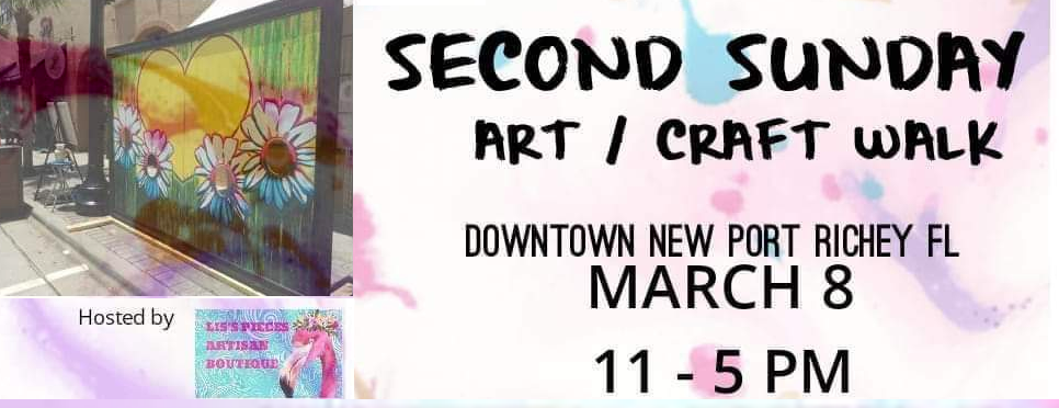 Second Sunday Art Walk in Downtown New Port Richey