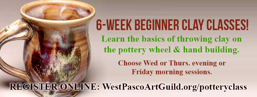 Beginning Pottery Classes