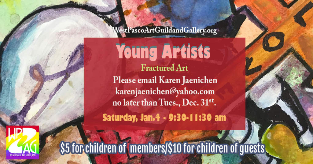 Young Artists Fractured Art